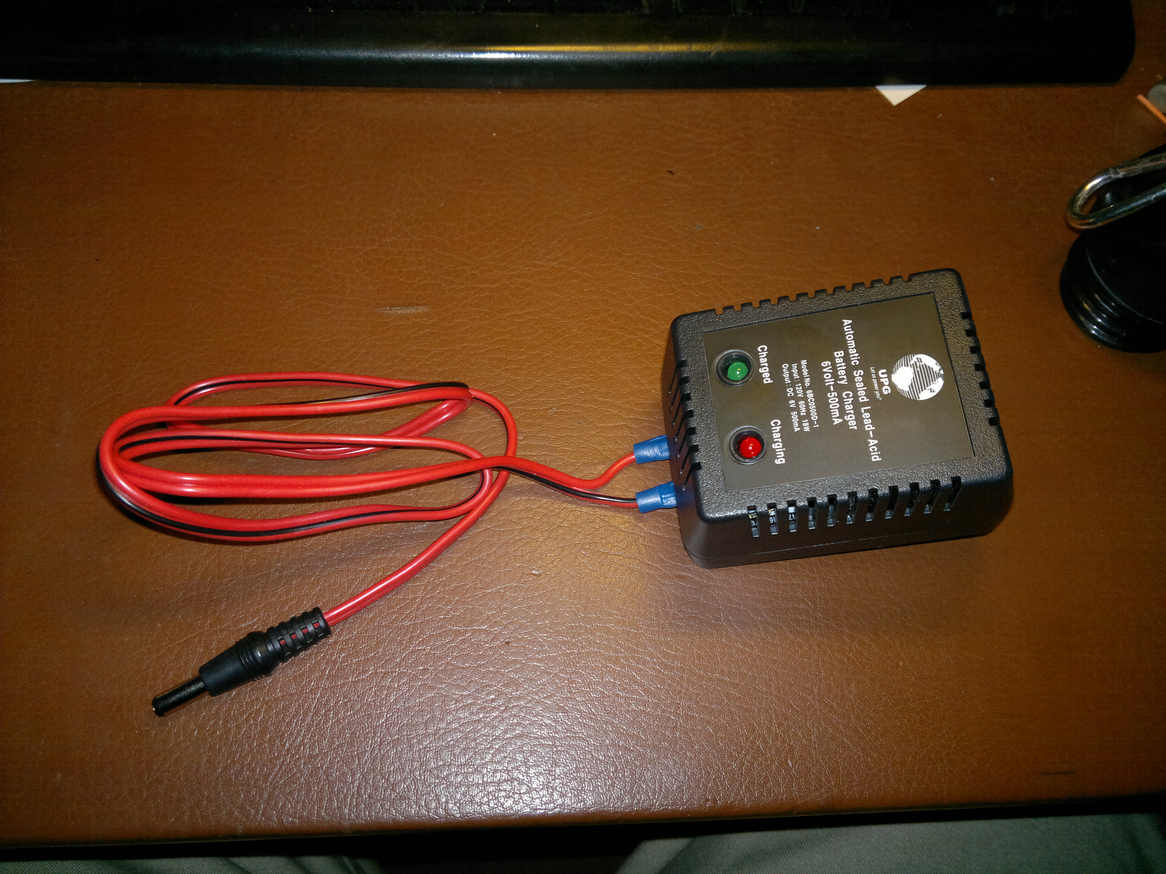 6v 500ma Sealed Lead Acid Battery Charger Dual Stage Regulated Circuit